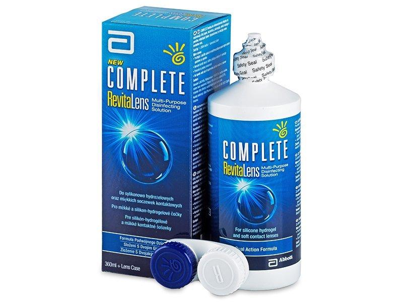 Разтвор Complete RevitaLens 360ml  - Разтвор за почистване