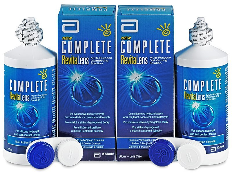 Разтвор Complete RevitaLens 2 x 360 ml