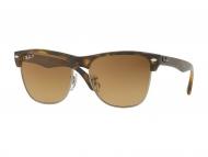 Слънчеви очила - Ray-Ban CLUBMASTER OVERSIZED CLASSIC RB4175 878/M2