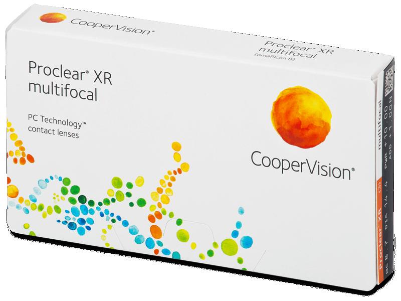 Proclear Multifocal XR (3лещи) - Мултифокални лещи