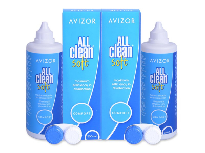 Avizor All Clean Soft  разтвор 2 х 350 ml