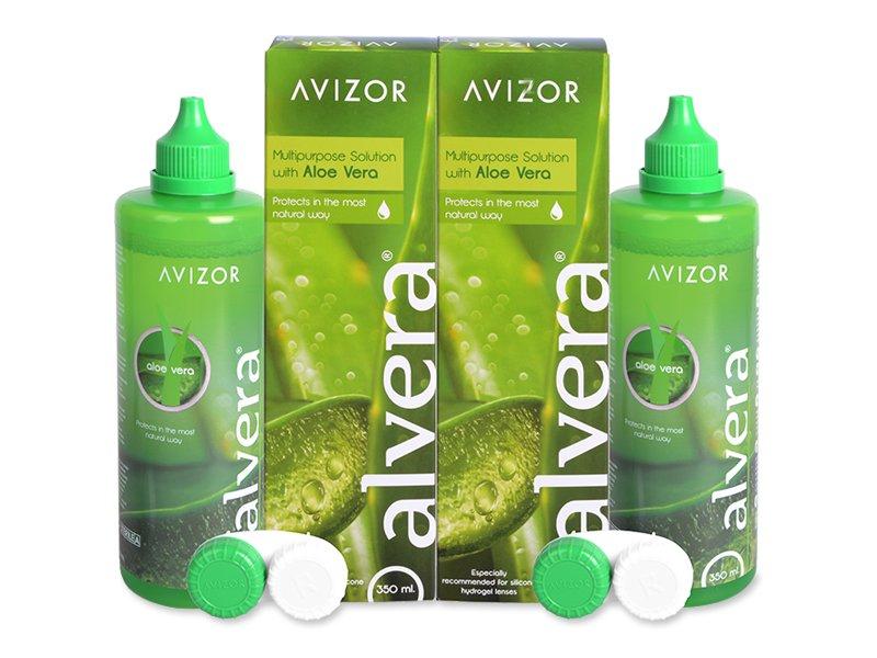 Разтвор Alvera 2 x 350 ml  - Икономичен пакет два разтвора