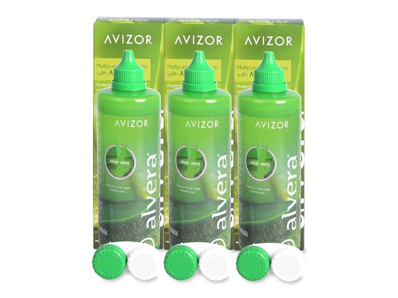 Разтвор Alvera 3 x 350 ml  - Икономичен пакет 3 разтвора