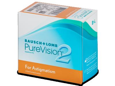 PureVision 2 for Astigmatism (6лещи) - Торични лещи