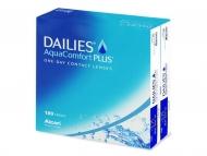 Еднодневни контактни лещи - Dailies AquaComfort Plus (180лещи)