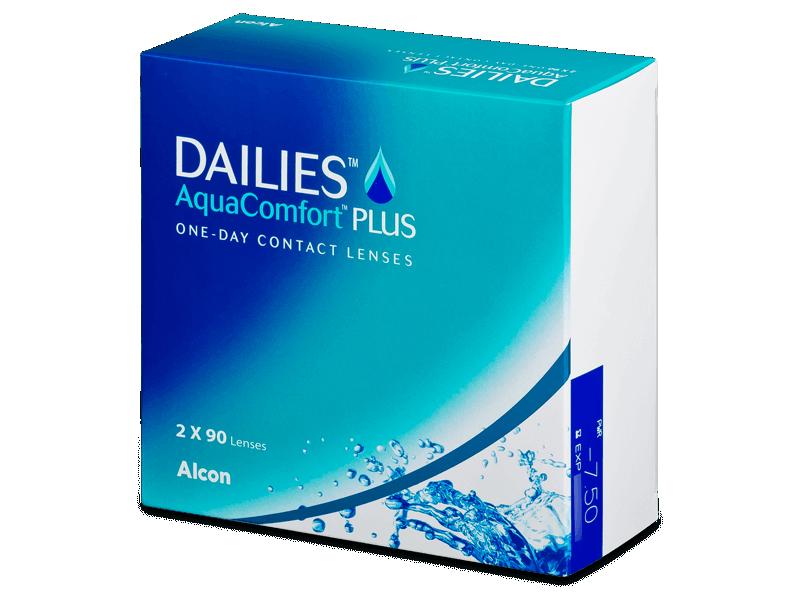 Dailies AquaComfort Plus (180лещи) - Еднодневни контактни лещи