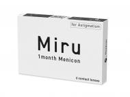 Торични контактни лещи за коригиране на астигматизъм - Miru 1 Month Menicon for Astigmatism (6 лещи)