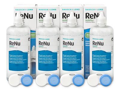 Разтвор ReNu MultiPlus 4 x 360 ml  - По-старт дизайн