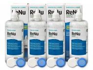 Разтвор за контактни лещи Renu Multiplus - Разтвор ReNu MultiPlus 4 x 360 ml