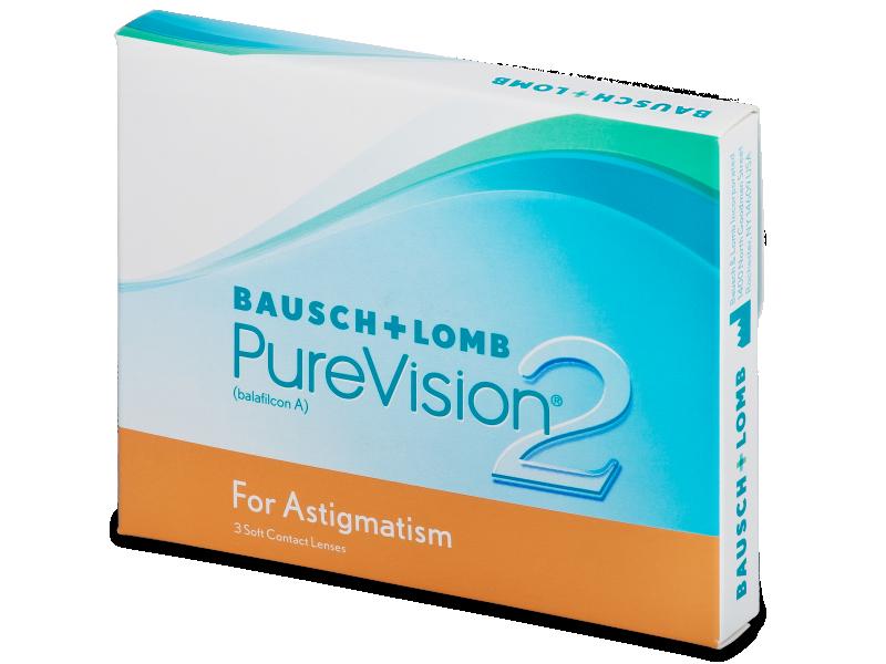 PureVision 2 for Astigmatism (3лещи) - Торични лещи