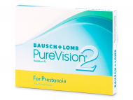 Bausch and Lomb - лещи за очи, разтвори и капки - PureVision 2 for Presbyopia (3лещи)