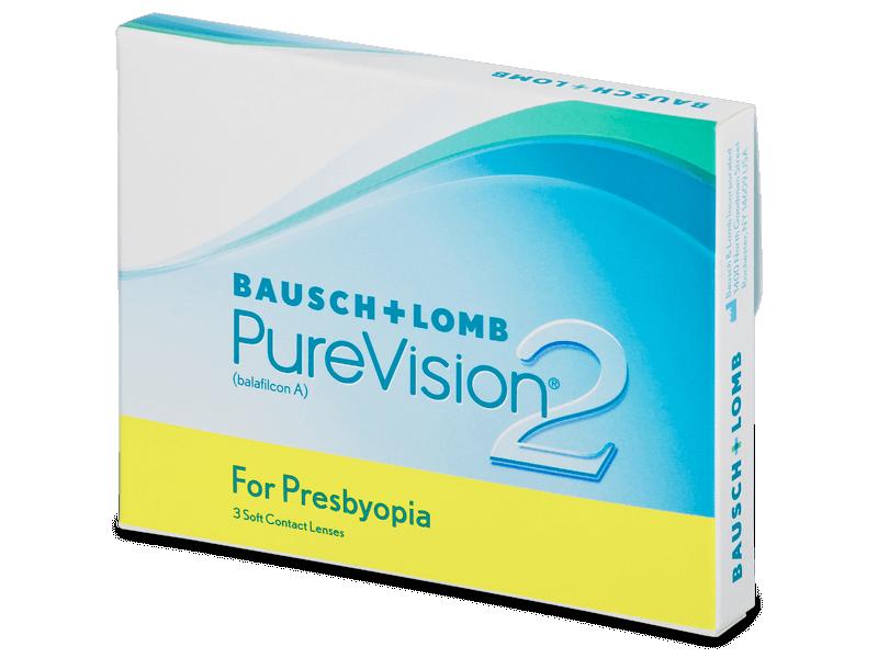 PureVision 2 for Presbyopia (3лещи) - Мултифокални лещи