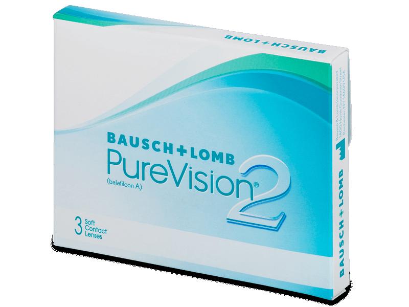 PureVision 2 (3лещи) - Месечни контактни лещи