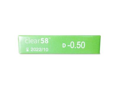 Clear 58 (6лещи) - Преглед на параметри