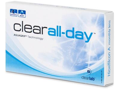 Clear All-Day (6лещи) - Месечни контактни лещи