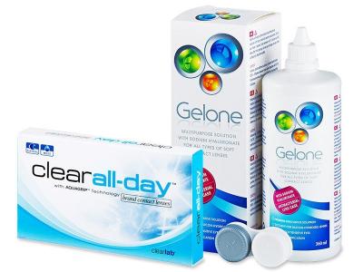 Clear All-Day (6лещи) +разтворGelone360 мл. - Пакет на оферта
