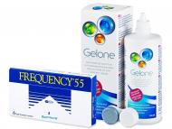 Frequency 55 (6лещи) + разтворGelone360 мл.