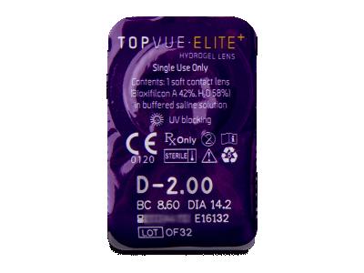 TopVue Elite+ (10 лещи) - Преглед на блистер