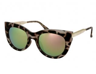 Слънчеви очила - Слънчеви очила  Alensa Cat Eye Havana Розово огледални