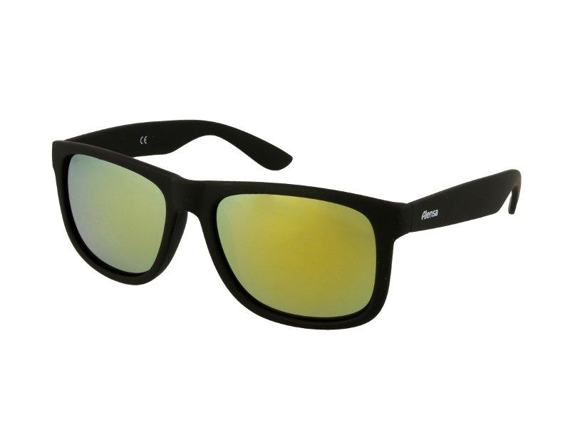 Слънчеви очила Alensa Sport Черно-златно огледални