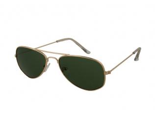 Слънчеви очила - Детски слънчеви очила Alensa Pilot Златни