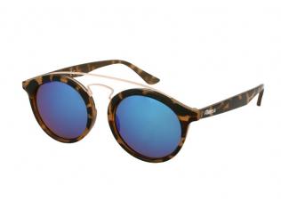 Слънчеви очила - Детски слънчеви очила Alensa Panto Havana Синьо огледални