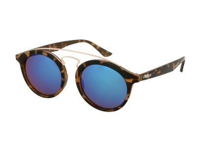 Детски слънчеви очила Alensa Panto Havana Синьо огледални