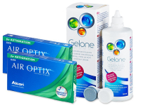 Air Optix for Astigmatism (2x3 лещи) + разтвор Gelone 360 мл.