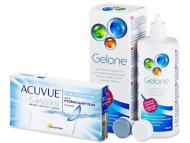 Acuvue Oasys for Astigmatism (6лещи) + разтвор Gelone 360мл