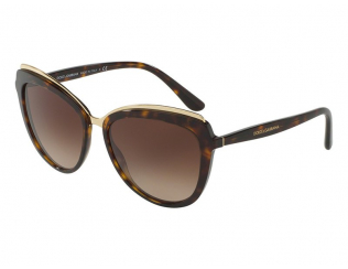 Слънчеви очила - Котешки очи - Dolce & Gabbana DG 4304 502/13