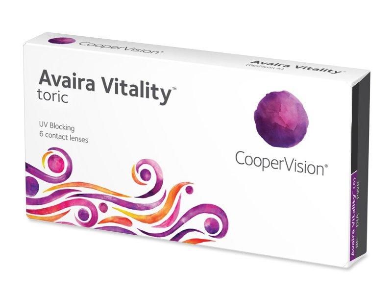 Avaira Vitality Toric (6 лещи) - Торични лещи