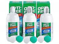Разтвор за контактни лещи Opti-FREE - Разтвор OPTI-FREE Express 3 x 355 мл.