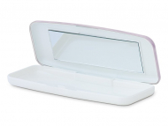 Контейнерчета за съхранение - Кутийка за ежедневдни лещи - розова