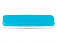 Аксесоари за лещи - Кутийка за ежедневдни лещи - синя