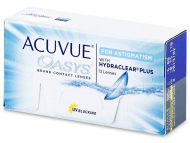 Двуседмични лещи - Acuvue Oasys for Astigmatism (12лещи)