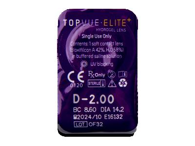 TopVue Elite+ (10 чифта лещи) - Преглед на блистер