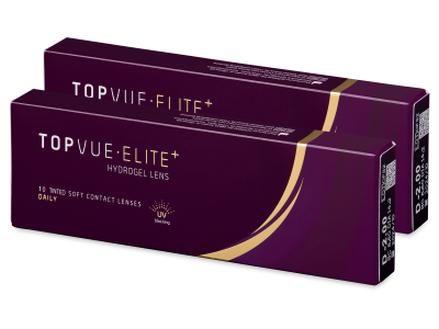 TopVue Elite+ (10 чифта лещи) - Еднодневни контактни лещи