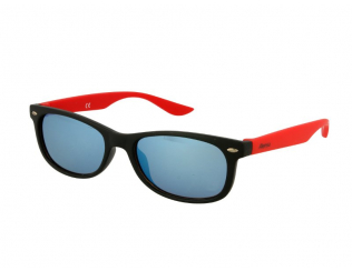 Спортни очила Alensa - Детски слънчеви очила Alensa Sport Черно-червено огледални