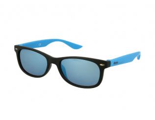Слънчеви очила - Детски слънчеви очила  Alensa Sport Черно-синьо огледални