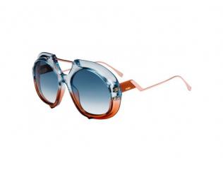 Овални слънчеви очила - Fendi FF 0316/S S9W/08