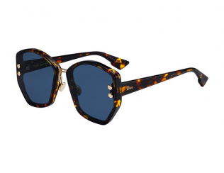 Слънчеви очила Уголемени - Christian Dior DIORADDICT2 P65/A9
