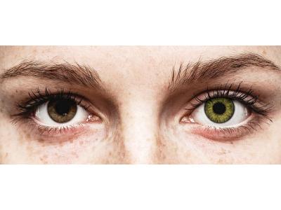 Зелено гемстън (Gemstone Green) - Air Optix Colors (2лещи)