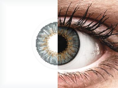 Сиви (Grey) - Air Optix Colors - с диоптър (2лещи)