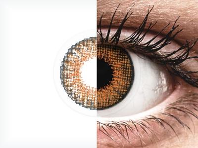 Медено (Honey) - Air Optix Colors - с диоптър (2лещи)