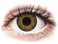 Диоптрични цветни лещи - Истински лешник (Pure Hazel) - Air Optix Colors - с диоптър (2лещи)