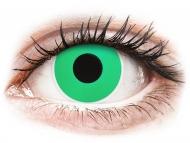 Зелени контактни лещи - без диоптър - Смарагдово зелени (Emerald Green) - ColourVUE Crazy Lens (2 лещи)