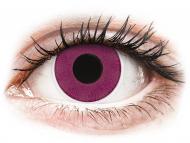 Лилави контактни лещи - без диоптър - Лилави (Purple) - ColourVUE Crazy Lens (2 лещи)