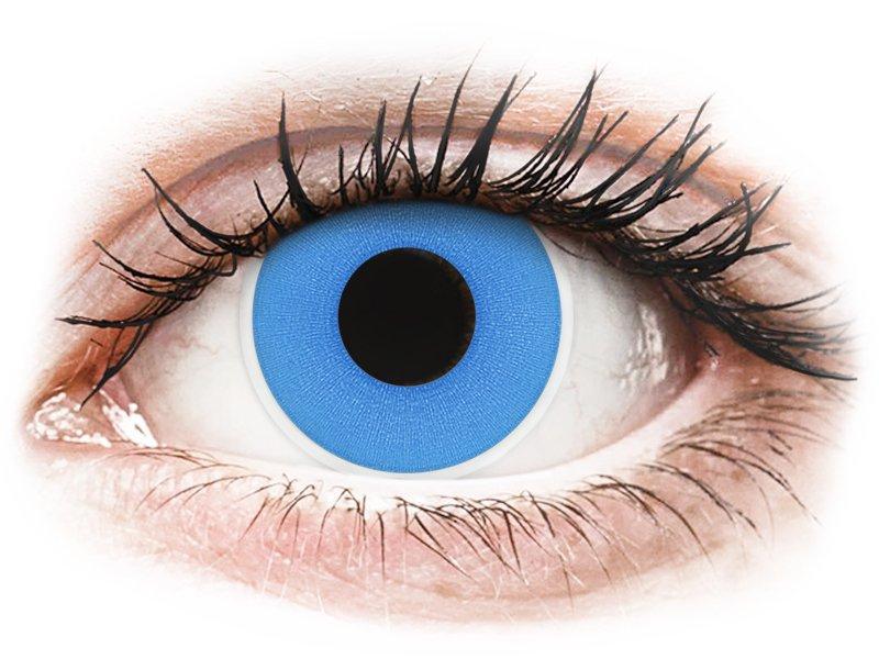 ColourVUE Crazy Lens - Sky Blue - без диоптър (2 лещи)
