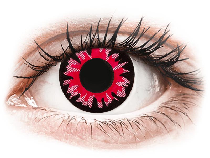 ColourVUE Crazy Lens - Volturi - без диоптър (2 лещи) - Coloured contact lenses