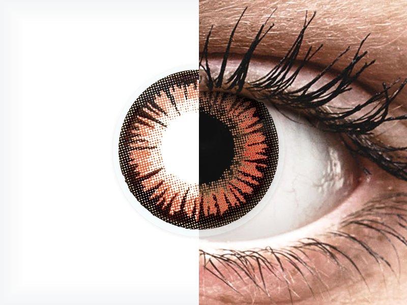 Червени, Вампир (Vampire) - ColourVUE Crazy Lens (2 лещи)